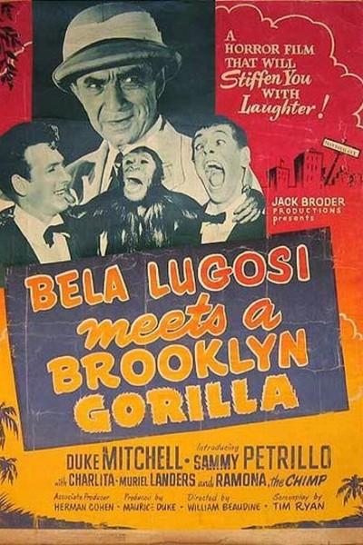 Caratula, cartel, poster o portada de Bela Lugosi Meets a Brooklyn Gorilla