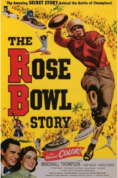 Caratula, cartel, poster o portada de The Rose Bowl Story