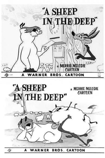 Caratula, cartel, poster o portada de A Sheep in the Deep