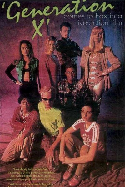 Caratula, cartel, poster o portada de Generación X