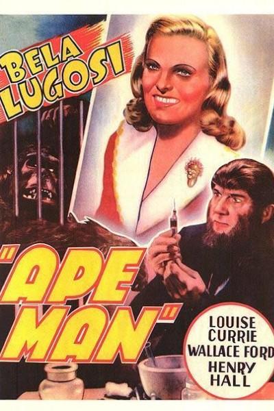 Caratula, cartel, poster o portada de The Ape Man