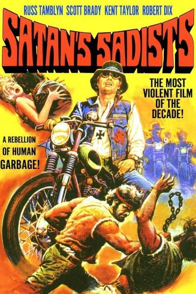 Caratula, cartel, poster o portada de Los sádicos de Satán