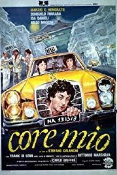 Caratula, cartel, poster o portada de Core mio