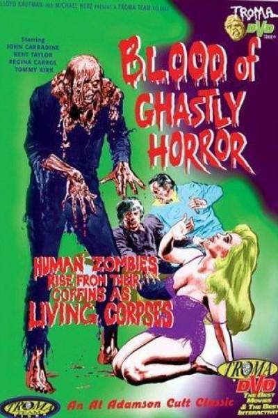 Caratula, cartel, poster o portada de Blood of Ghastly Horror