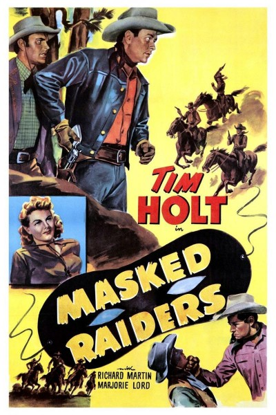 Caratula, cartel, poster o portada de Masked Raiders
