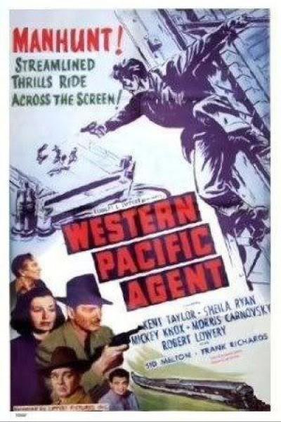 Caratula, cartel, poster o portada de Western Pacific Agent