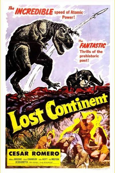 Caratula, cartel, poster o portada de El Continente Perdido