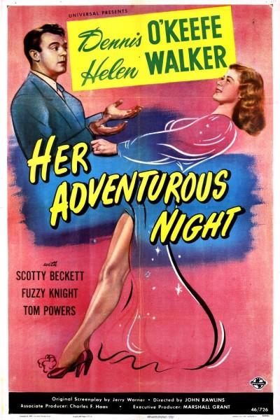 Caratula, cartel, poster o portada de Her Adventurous Night