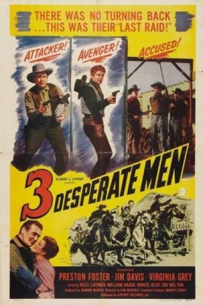 Caratula, cartel, poster o portada de Three Desperate Men