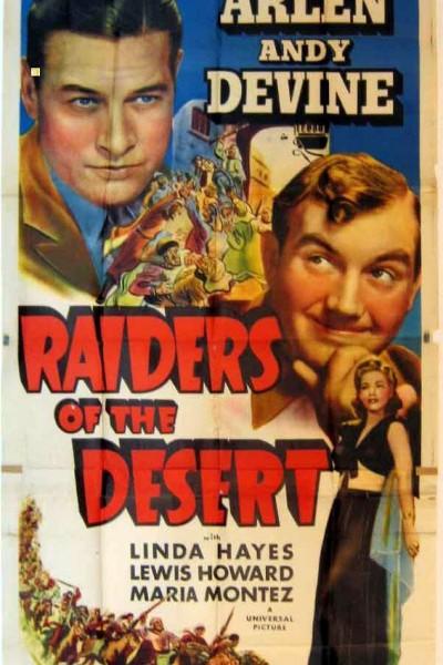 Caratula, cartel, poster o portada de Raiders of the Desert