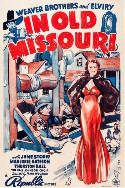 Caratula, cartel, poster o portada de In Old Missouri