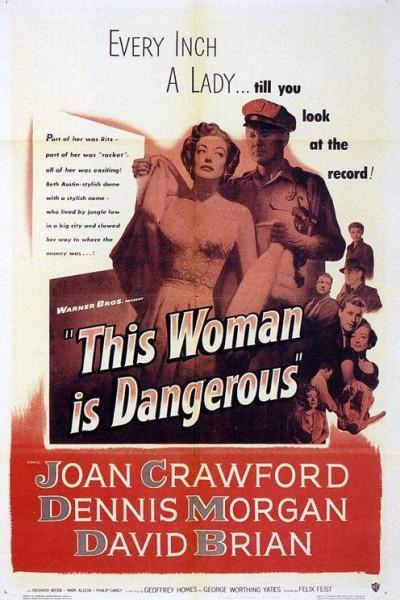 Caratula, cartel, poster o portada de Una mujer peligrosa