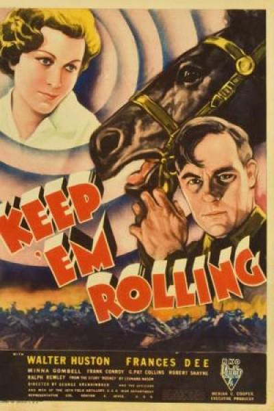 Caratula, cartel, poster o portada de Keep \'Em Rolling