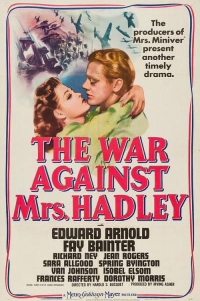 Caratula, cartel, poster o portada de The War Against Mrs. Hadley