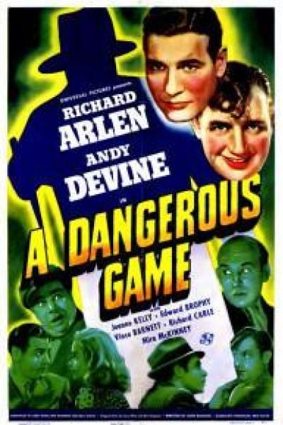 Caratula, cartel, poster o portada de A Dangerous Game
