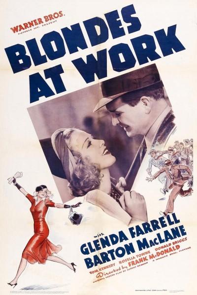 Caratula, cartel, poster o portada de Blondes at Work
