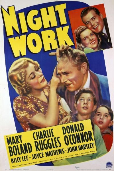 Caratula, cartel, poster o portada de Night Work