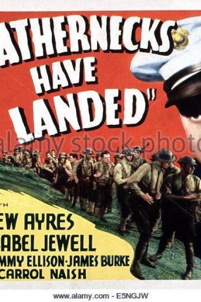 Caratula, cartel, poster o portada de The Leathernecks Have Landed