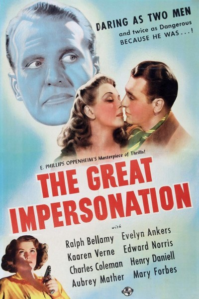 Caratula, cartel, poster o portada de The Great Impersonation