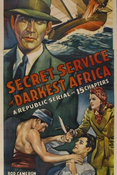 Caratula, cartel, poster o portada de Secret Service in Darkest Africa