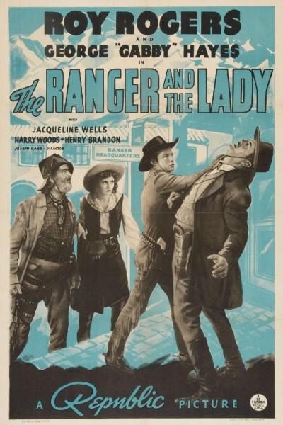 Caratula, cartel, poster o portada de The Ranger and the Lady