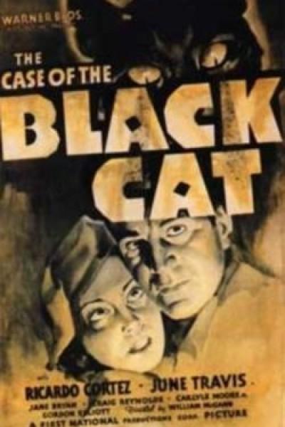Caratula, cartel, poster o portada de El caso del gato negro