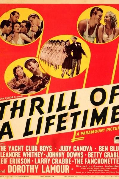 Caratula, cartel, poster o portada de Thrill of a Lifetime