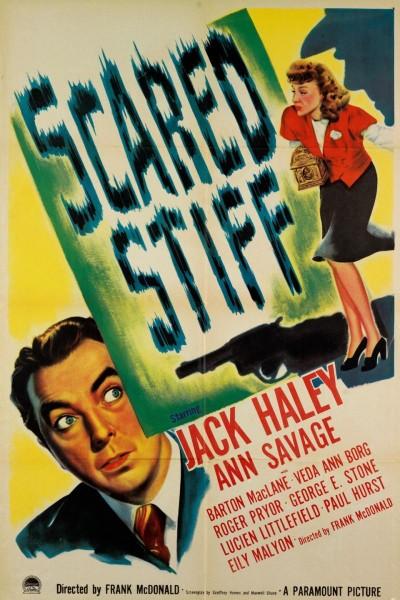 Caratula, cartel, poster o portada de Scared Stiff