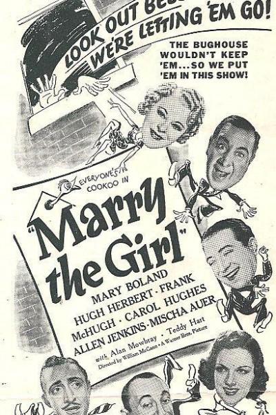 Caratula, cartel, poster o portada de Marry the Girl