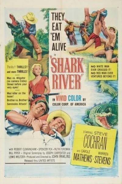 Caratula, cartel, poster o portada de Shark River