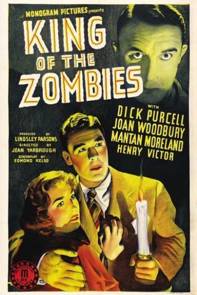 Caratula, cartel, poster o portada de El rey de los zombies