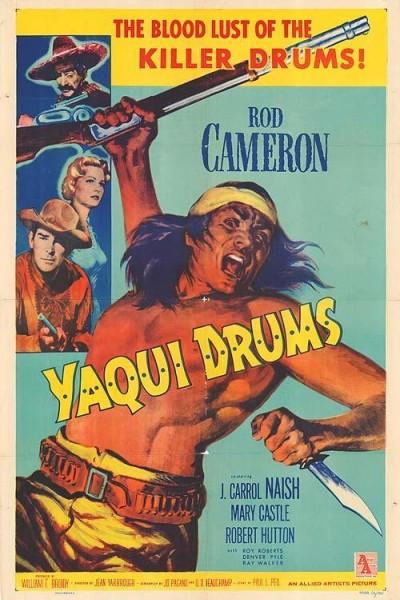 Caratula, cartel, poster o portada de Yaqui Drums