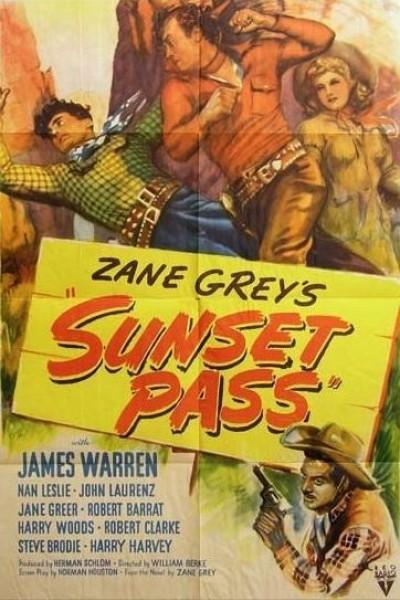Caratula, cartel, poster o portada de Sunset Pass