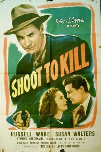 Caratula, cartel, poster o portada de Shoot to Kill