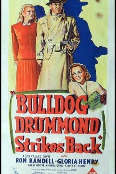 Caratula, cartel, poster o portada de Bulldog Drummond Strikes Back