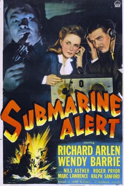Caratula, cartel, poster o portada de Alerta submarina