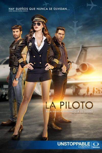Caratula, cartel, poster o portada de La piloto