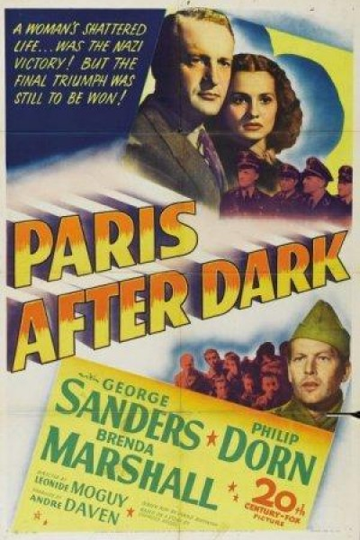 Caratula, cartel, poster o portada de Paris After Dark (The Night is Ending)