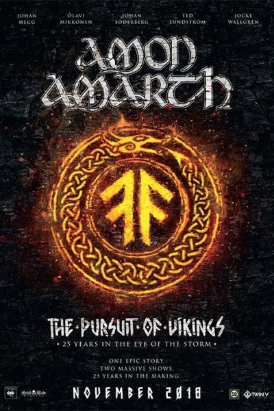 Caratula, cartel, poster o portada de Amon Amarth The Pursuit of Vikings: 25 Years in the Eye of the Storm