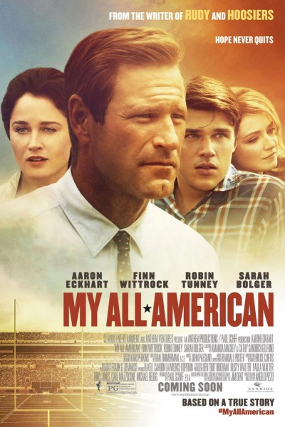 Caratula, cartel, poster o portada de My All American