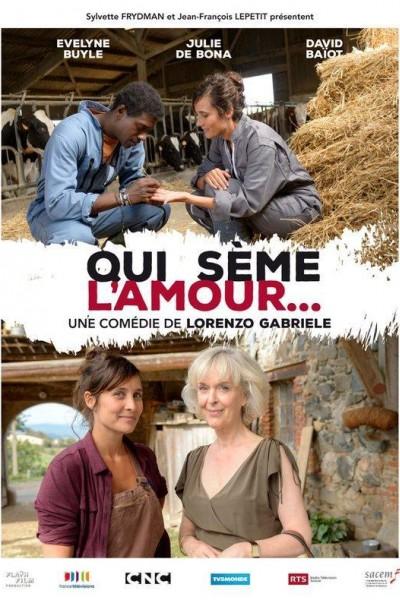 Caratula, cartel, poster o portada de Quien siembra amor...