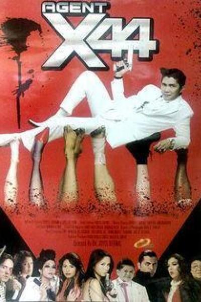 Caratula, cartel, poster o portada de Agent X44