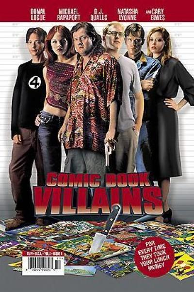Caratula, cartel, poster o portada de Comic Book Villains