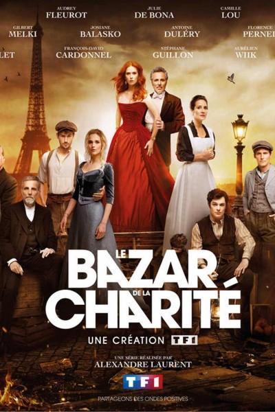 Caratula, cartel, poster o portada de El bazar de la caridad