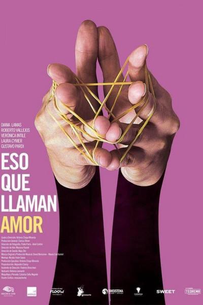 Caratula, cartel, poster o portada de Eso que llaman amor