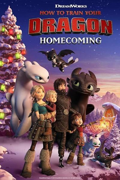 Caratula, cartel, poster o portada de How to Train Your Dragon: Homecoming