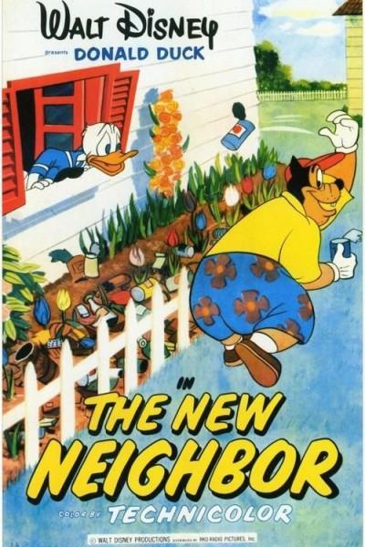Caratula, cartel, poster o portada de Pato Donald: El nuevo vecino