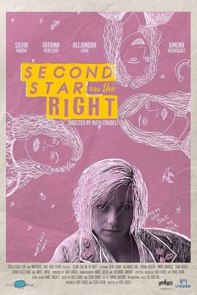Caratula, cartel, poster o portada de Segunda estrella a la derecha