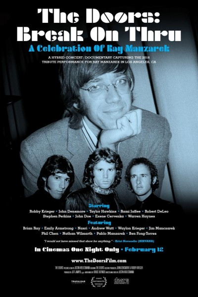 Caratula, cartel, poster o portada de Break on Thru: A Celebration of Ray Manzarek and The Doors