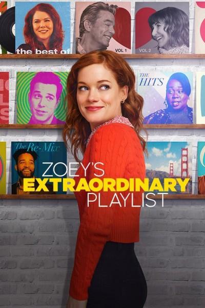 Caratula, cartel, poster o portada de La extraordinaria playlist de Zoe